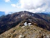 Via Normale Monte Tamaro - da SE - Il Monte Gradiccioli, dalla vetta del Monte Tamaro