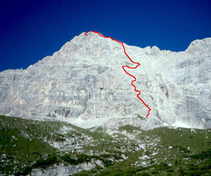 Via Normale Moiazza Nord