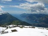Via Normale Monte Stivo da SE - Panorama su Riva del Garda