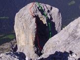 Via Normale Cima della Madonna - Come sopra dalla cima del Sass Maor