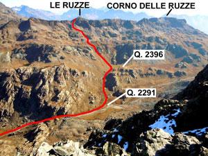 Via Normale Le Ruzze (o Piz Canfinal)