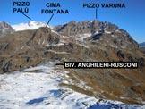 Via Normale Le Ruzze (o Piz Canfinal) da N - Panorama dalla vetta