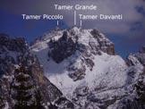Via Normale Tàmer Davanti - I Tamer dal Rif. Carestiato