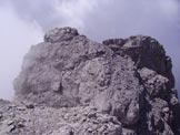 Via Normale Tàmer Davanti - Dalla prima cima la vetta gemella e la q. 2483 m