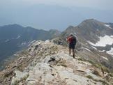 Via Normale Monte Madonnino - Discesa dalla Cima