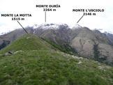 Via Normale Monte la Motta - La cima, da S