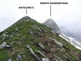 Via Normale Monte Marmontana – Cresta E - Lungo la cresta est