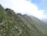 Via Normale Monte Torresella - Sulla cresta SW