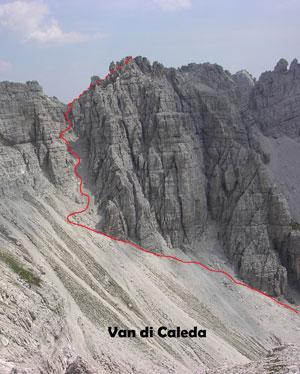 Via Normale Cresta Sud di S. Sebastiano