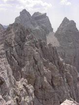 Via Normale Cresta Sud di S. Sebastiano - Verso i Tamer