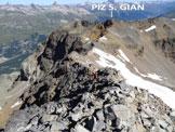 Via Normale Piz Surlej – Piz Mezdi - In discesa dalla (q. 3185 m)