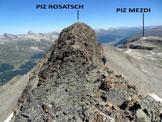 Via Normale Piz Surlej – Piz Mezdi - Sulla cresta SW/S del Piz Rosatsch