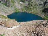 Via Normale Pizzo del Diavolo di Malgina - Il Lago della Malgina