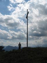 Via Normale Col de la Cross - La croce di vetta