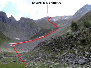 Via Normale Monte Nembra