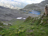 Via Normale Monte Telenek - Il Lago di Pisa, dal canale erboso