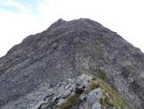Via Normale Monte Telenek – Cresta W - Il Monte Telenek, dalla sella di collegamento con il M. Nembra