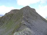 Via Normale Monte Telenek – Cresta W - Il Monte Nembra, dalla sella di collegamento con il M. Telenek