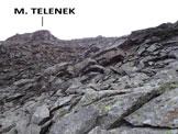 Via Normale Monte Telenek – Cresta W - Sulla cresta W