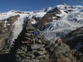 Via Normale Alta Luce - Hochlicht - vetta con vista ghiacciai