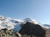 Via Normale Alta Luce - Hochlicht - Cresta verso est