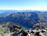 Via Normale Monte Torena - Versante N - I 2 laghi di Torena e quello di Belviso, dalla vetta