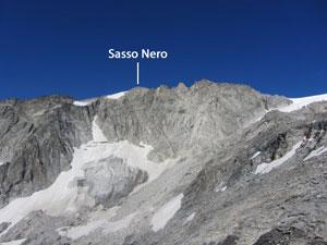 Via Normale Sasso Nero-Schwarzenstein