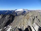 Via Normale Cristallina - Il Monte Basodino e il suo ghiacciaio, dalla vetta del Cristallina
