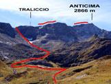 Via Normale Cristallina – Cresta NE - L'itinerario dall'Alpe Torta