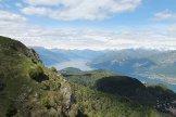Via Normale Monte San Primo - Il Lago di Como dall´Alpe Spessola
