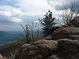 Via Normale Monte Piambello - Rocce Rosse