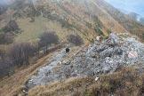 Via Normale Monte Grona - Passaggi su roccette