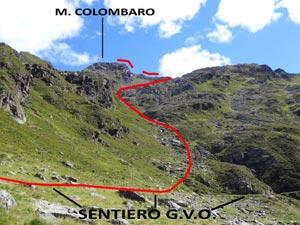 Via Normale Monte Colombaro
