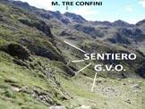 Via Normale Monte Colombaro -  In discesa, poco prima di raggiungere il sentiero della G.V.O.