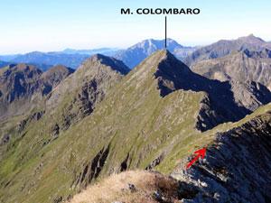 Via Normale Monte Colombaro – Cresta NE