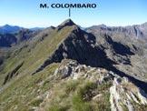 Via Normale Monte Colombaro – Cresta NE - Lungo la cresta tra il Sellero e il Colomaro