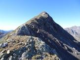 Via Normale Monte Colombaro – Cresta NE - Il Monte Colombaro dalla cresta NE