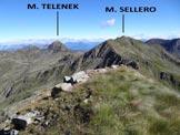 Via Normale Monte Colombaro – Cresta NE - Panorama dalla vetta del Colombaro