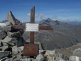 Via Normale Torre del Gran San Pietro - La piccola croce di vetta