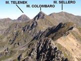 Via Normale Monte Tre Confini (o Venerocolo) - da N - Panorama di vetta verso NNE