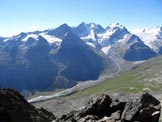Via Normale Munt Arlas - Il Gruppo del Bernina, dalla vetta