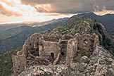 Via Normale Monte Consolino - Il Castello dalla vetta