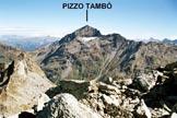 Via Normale Piz de la Lumbreida - da E - Panorama dalla vetta, verso ENE