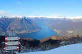 Via Normale Monte Boletto - Il Lago di Como dalla vetta del Monte Boletto