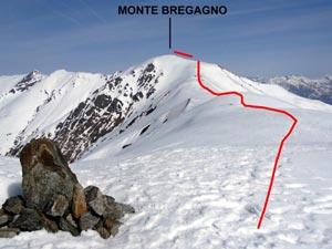 Via Normale Monte Bregagno - dai Monti di Gallio