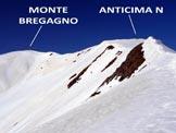 Via Normale Monte Bregagno - dal Dosso di Naro - All'inizio della cresta NE