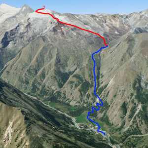 Via Normale Gran Serra / Gran Sertz