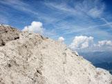 Via Normale Croda dei Toni - La cima