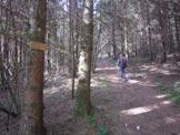 Via Normale Monte Peron - Valloncello iniziale