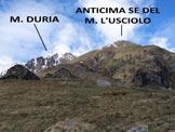 Via Normale Monte l'Usciolo - In località Bargo